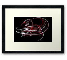 Light Sculpture 15 Framed Print