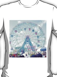 Wonderwheel at Coney Island in Brooklyn, New York City T-Shirt