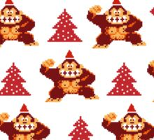 Santa is coming back Sticker
