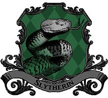 Slytherin House Crest by SedatedArtist