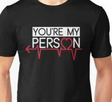 Grey's Anatomy - You Are My Person Left Unisex T-Shirt