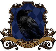 Ravenclaw House Crest by SedatedArtist