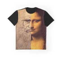 MONA DA VINCI Graphic T-Shirt