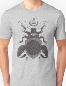 Spilling Time - Beetle Two - Grey Unisex T-Shirt