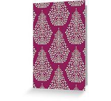 SPIRIT purple cream (card) Greeting Card