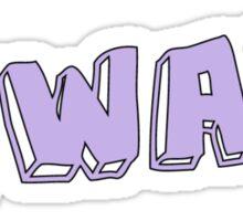 tumblr phrase Sticker