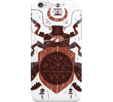 Spilling Time - Beetle Two - Red iPhone Case/Skin