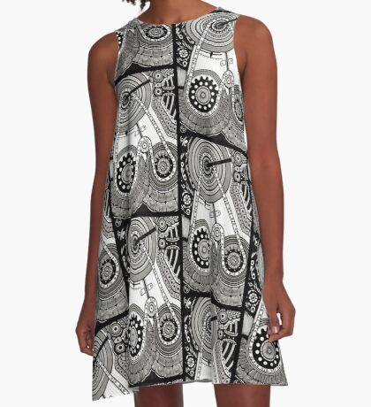 EP. CHAIN A-Line Dress