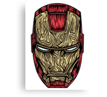 Iron Man Mask  Canvas Print