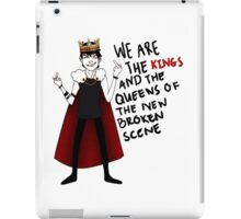 King Of Broken Scene iPad Case/Skin