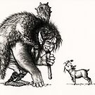 Please do not feed the troll by Himmapaan