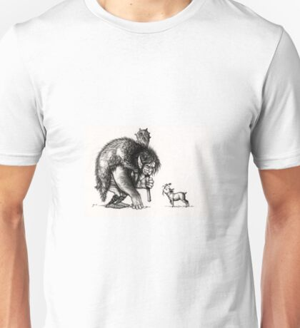 Please do not feed the troll Unisex T-Shirt