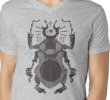 Eye of the Gods - Beetle Three - grey Mens V-Neck T-Shirt