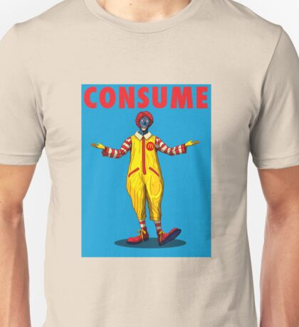 Consuming Clown Unisex T-Shirt