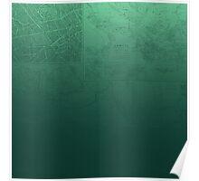 Jade Map Poster