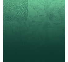 Jade Map Photographic Print