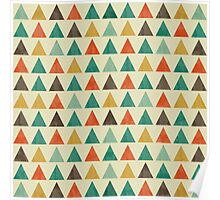 Lovely geometric Pattern VII Poster