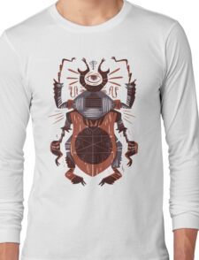 Eye of the Gods - Beetle Three - red Long Sleeve T-Shirt