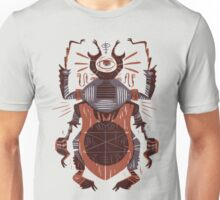 Eye of the Gods - Beetle Three - red Unisex T-Shirt