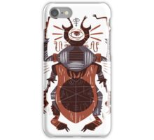 Eye of the Gods - Beetle Three - red iPhone Case/Skin