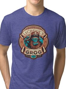 Ghost Pirate Grog Tri-blend T-Shirt