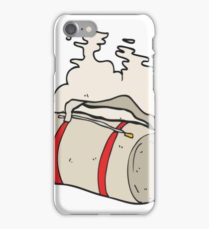 cartoon sports bag iPhone Case/Skin