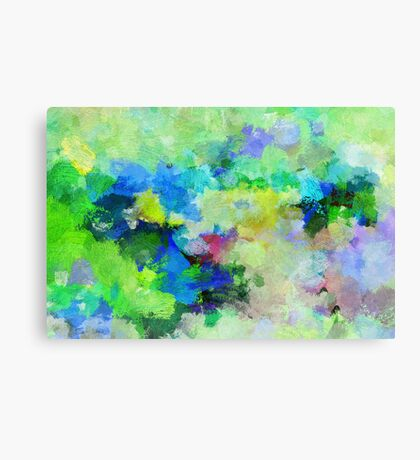 Lyrical Abstract Art Canvas Print