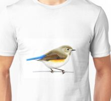 Red Flanked Blue Tail (Tarsiger cyanurus) Unisex T-Shirt