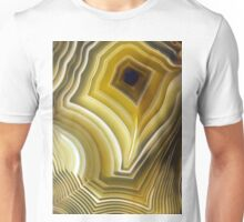 Earth Treasures - Yellow Agate  Unisex T-Shirt