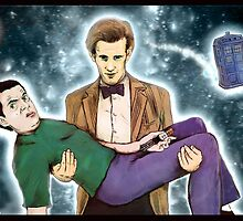 doctor who and mr. bean by matan kohn