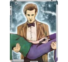 doctor who and mr. bean iPad Case/Skin