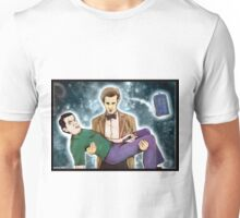 doctor who and mr. bean Unisex T-Shirt