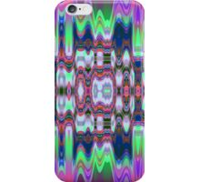 Colourful waves and patterns iPhone Case/Skin