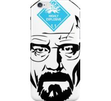 Walter White: Highly Explosive iPhone Case/Skin