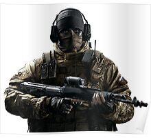 Glaz - Rainbow 6 Siege - portrait Poster