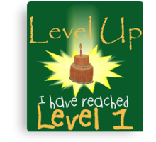 Level Up Canvas Print