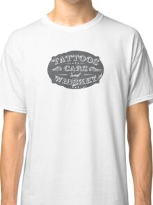 Voodoo Designs - Tattoos Cars & Whiskey Classic T-Shirt