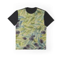 Watercolor olive branches Graphic T-Shirt