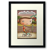 Happy Birthday (Malvern Star) Framed Print
