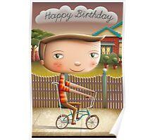Happy Birthday (Malvern Star) Poster
