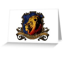 Gryffinclaw House Crest Greeting Card
