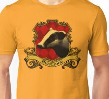 Huffledor House Crest Unisex T-Shirt