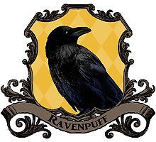 Ravenpuff House Crest by SedatedArtist