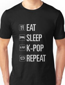 EAT SLEEP KPOP REPEAT Unisex T-Shirt