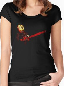 motel hell Women's Fitted Scoop T-Shirt