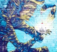 Mural Graffiti  Witchery  Sticker