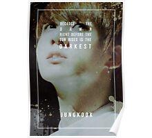 BTS Wings - Jungkook - Begin Poster