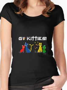 kitties Women's Fitted Scoop T-Shirt