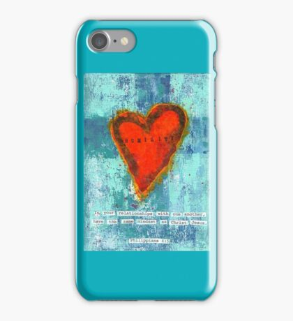 Philippians 4:5 Humility iPhone Case/Skin