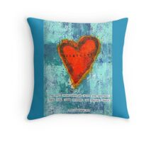 Philippians 4:5 Humility Throw Pillow